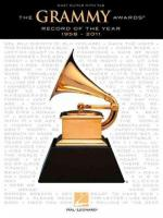 Grammy Awards Record of the Year 1958 - 2011 Easy Guitar Tab Gtr Bk