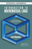 Introduction to Mathematical Logic 6th New edition