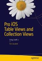 Pro iOS Table Views and Collection Views 2015