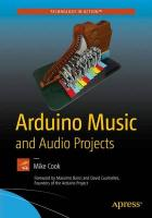 Arduino Music and Audio Projects 2015 1st ed.