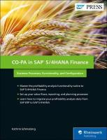 Co-PA in SAP S/4HANA Finance: Business Processes, Functionality, and Configuration