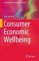 Consumer Economic Wellbeing 1st ed. 2015