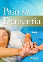 Pain in Dementia First