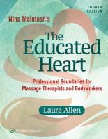 Nina McIntosh's The Educated Heart 4th edition