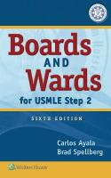 Boards and Wards for USMLE Step 2 6th edition