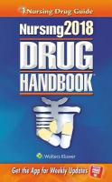 Nursing2018 Drug Handbook Thirty-Eighth