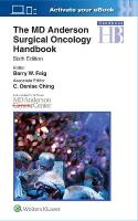 MD Anderson Surgical Oncology Handbook 6th edition