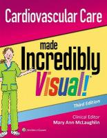 Cardiovascular Care Made Incredibly Visual! 3rd edition