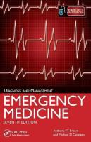Emergency Medicine: Diagnosis and Management, 7th Edition 7th New edition