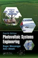 Photovoltaic Systems Engineering 4th New edition