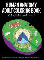 Human Anatomy Adult Coloring  Book Sixth Edition