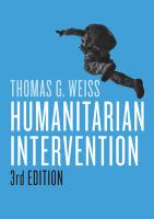 Humanitarian Intervention 3rd Revised edition