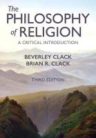 Philosophy of Religion: A Critical Introduction