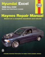 Hyundai Excel (86 - 00): 1986-2000 2nd Revised edition