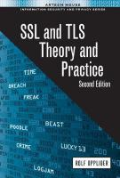 SSL and TLS: Theory and Practice 2016 2nd Revised edition