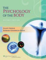 Psychology of the Body 2nd edition
