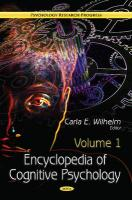 Encyclopedia of Cognitive Psychology: 2 Volume Set