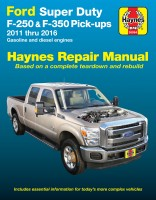 Haynes Ford Super Duty F-250 & F-350 Pick-ups, 2011-16 Repair Manual