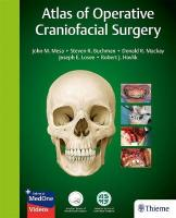 Atlas of Operative Craniofacial Surgery