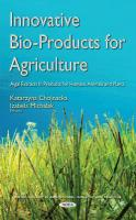 Innovative Bio-Products for Agriculture: Algal Extracts in Products for Humans, Animals & Plants