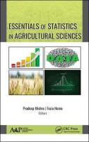 Essentials of Statistics In Agricultural Sciences