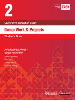 TASK 2 Group Work & Projects (2015) 2015 2nd edition, Student's Book