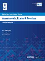 TASK 9 Assessments, Exams & Revision (2015) - Student's Book 2015 2nd edition, Student's Book