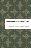 Communication and Expression: Adorno's Philosophy of Language