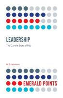 Leadership: The Current State of Play