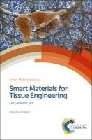 Smart Materials for Tissue Engineering: Two-Volume Set