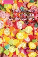 Science of Sugar Confectionery 2nd New edition