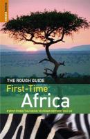 Rough Guide First-Time Africa illustrated edition