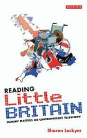 Reading Little Britain: Comedy Matters on Contemporary Television