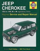 Jeep Cherokee Petrol (93 - 96) K To N