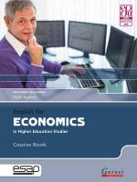 English for Economics in Higher Education Studies Student Manual/Study Guide
