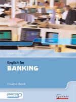 English for Banking in Higher Education Studies Student Manual/Study Guide, Course Book and Audio CDs
