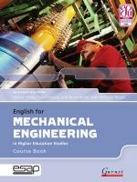 English for Mechanical Engineering in Higher Education Studies Student Manual/Study Guide