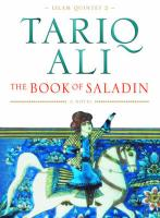 Book of Saladin: A Novel New edition