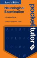 Pocket Tutor Neurological Examination: Second Edition 2nd Revised edition