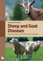 Sheep and Goat Diseases: Veterinary Book for Farmers and Smallholders 4th Revised edition