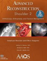 Advanced Reconstruction: Shoulder 2 2nd edition