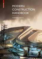 Modern Construction Handbook: Augmented Realtiy Enhanced Edition 5th ed.