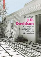 J. R. Davidson: A European Contribution to California Modernism