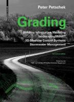 Grading: BIM. landscapingSMART. 3D-Machine Control Systems. Stormwater Management 3rd edition, revised