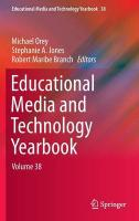 Educational Media and Technology Yearbook: Volume 38, Volume 38