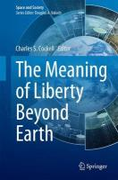 Meaning of Liberty Beyond Earth 2015 ed.