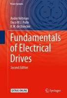 Fundamentals of Electrical Drives 2016 2nd ed. 2016