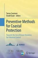 Preventive Methods for Coastal Protection: Towards the Use of Ocean Dynamics for Pollution Control Softcover reprint of the original 1st ed. 2013