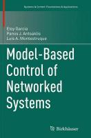 Model-Based Control of Networked Systems Softcover reprint of the original 1st ed. 2014