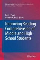 Improving Reading Comprehension of Middle and High School Students Softcover reprint of the original 1st ed. 2015